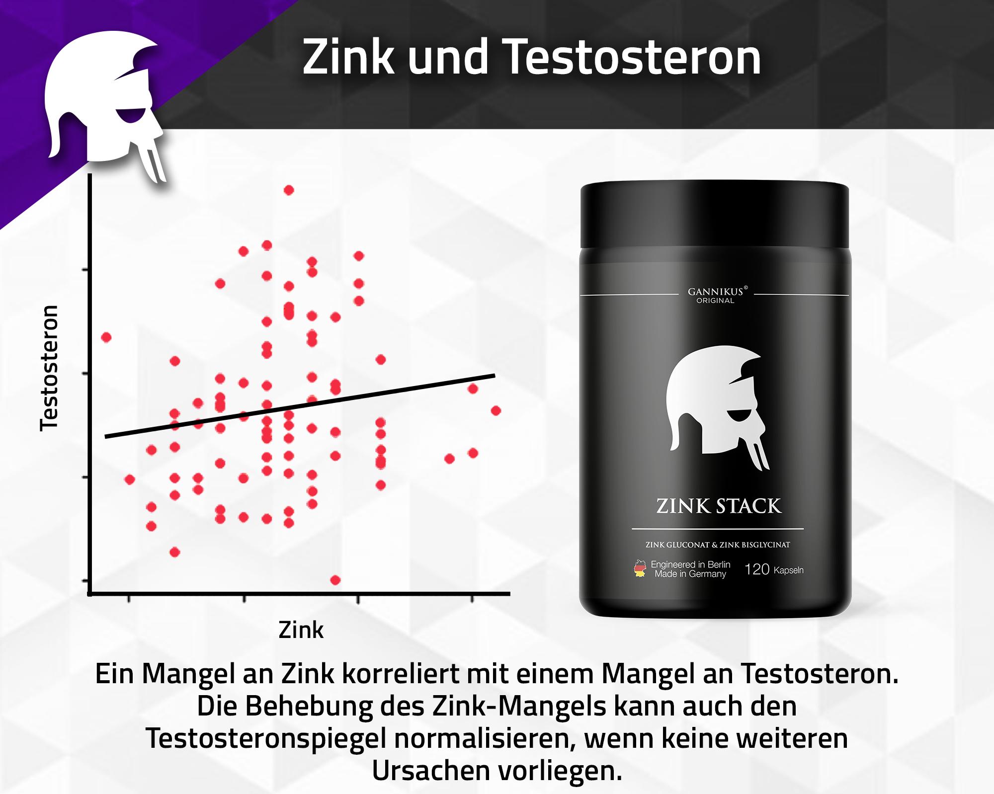 Zinkmangel Testosteron